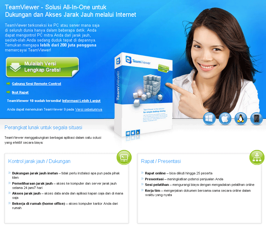 Team Viewer | Digital Kreasi - IT Developer & Consultant