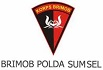 Satuan Brimob Polda Sumatera Selatan.